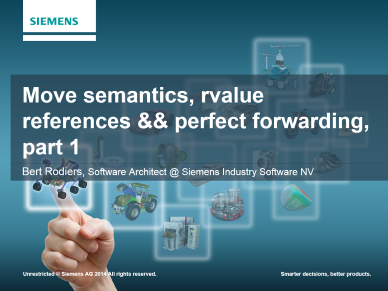 Bert Rodiers - Move Semantics Part 1