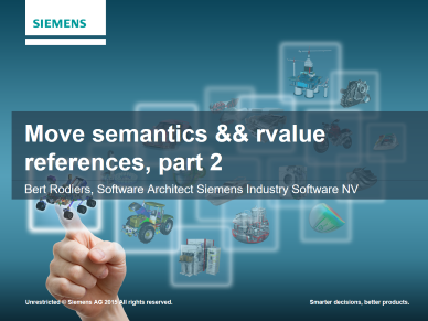 Bert Rodiers - Move semantics && rvalue references, part 2