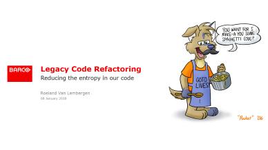 Roeland Van Lembergen - Legacy code refactoring case
